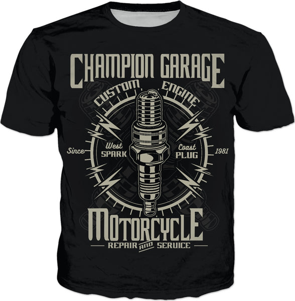 Champion Garage T-Shirt