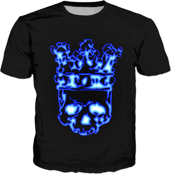 Fire Skull King Classic T-Shirt