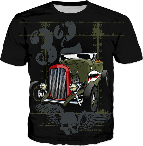 32 Deuce Tiger Shark T-Shirt