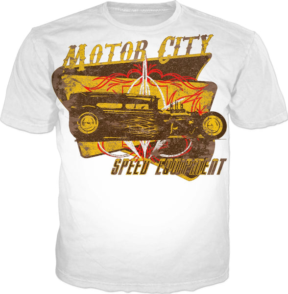 Motor City Speed Equipment T-Shirt