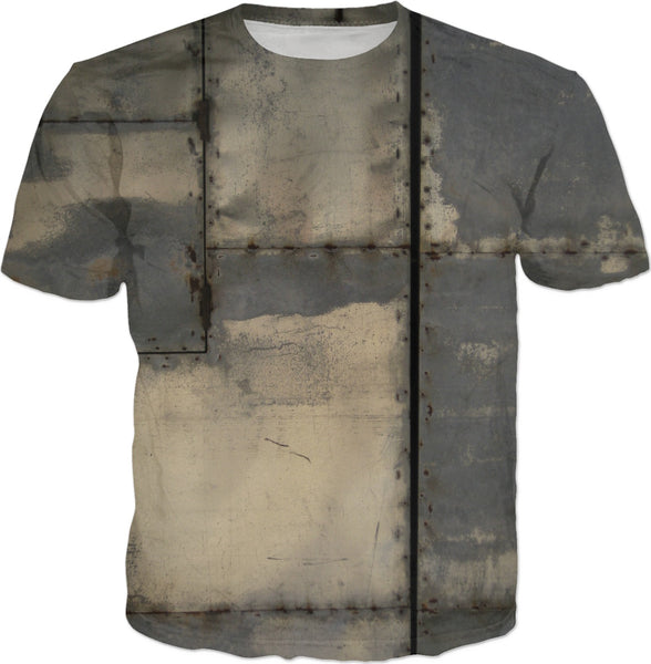 Dirty Metal Texture T-Shirt