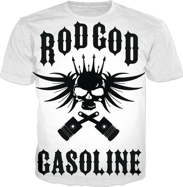 Rod God Large Print T-Shirt