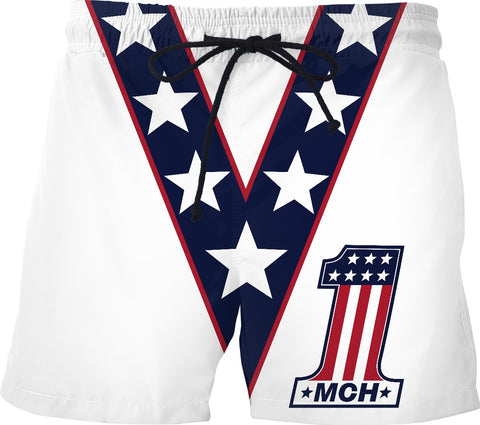 Feeling Evel Swim Shorts