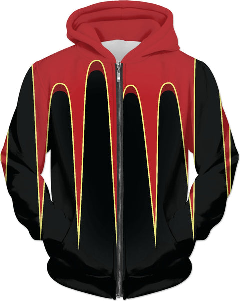 RED HOT ROD SCALLOPS Custom Hoodie