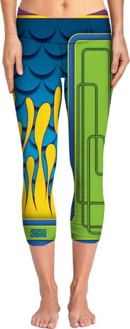60'S CUSTOM PAINT Custom Yoga Pants