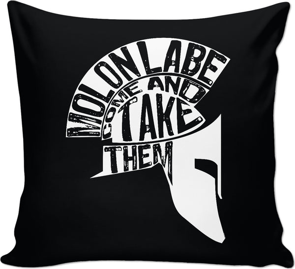 Molon Labe Custom Couch Pillow