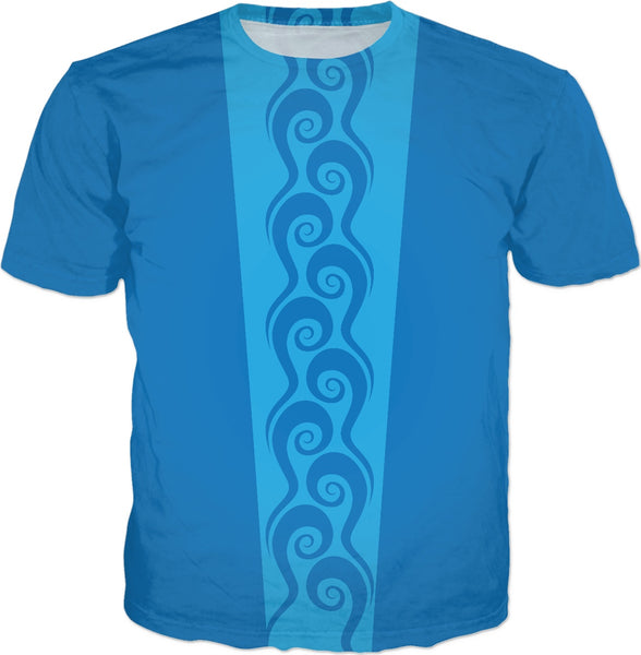 Surfer Waves Custom T-Shirt