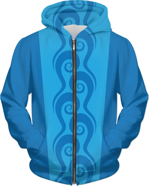 Surfer Waves Custom Hoodie