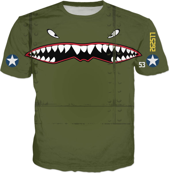 Tiger Shark Custom T-Shirt