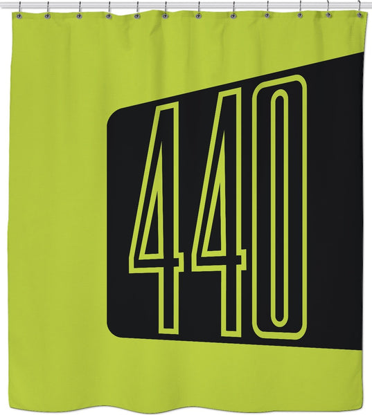 440 Sublime Custom Shower Curtain