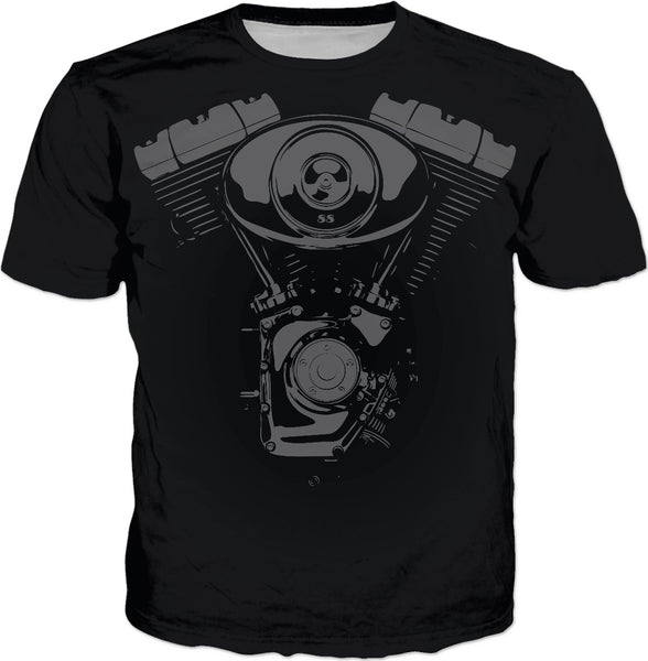 V Motor Dark Custom T-Shirt
