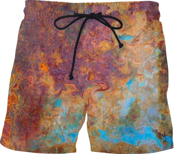 Rusted Custom Swim Shorts