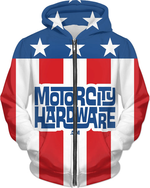 MCH Stars and Stripes Custom Hoodie