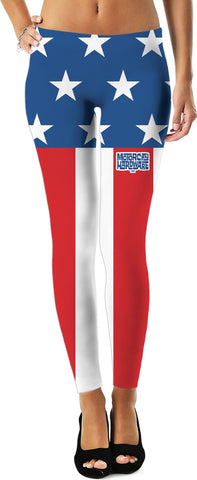 MCH Stars and Stripes Custom Leggings