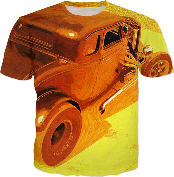 THE RACE MASTER Custom T-Shirt