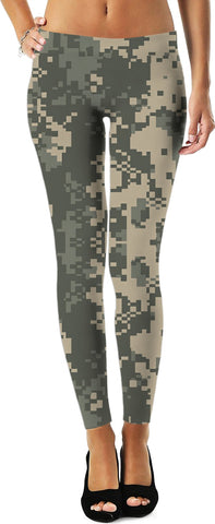Digital Camo  Custom Leggings