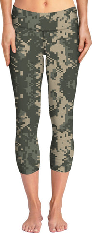 Digital Camo  Custom Yoga Pants