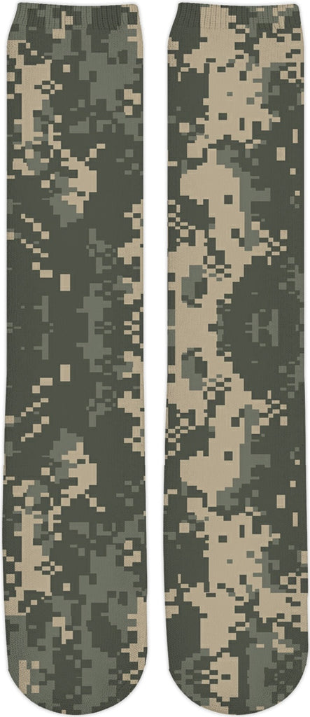 0cd5bc841b9 Digital Camo Custom Knee High Socks