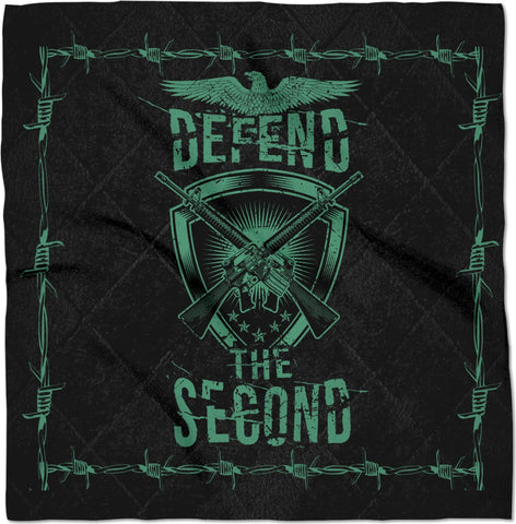 Defend The Second Custom Bandana