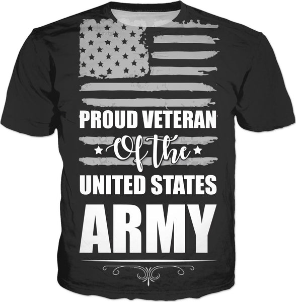 Army Vet Custom T-Shirt