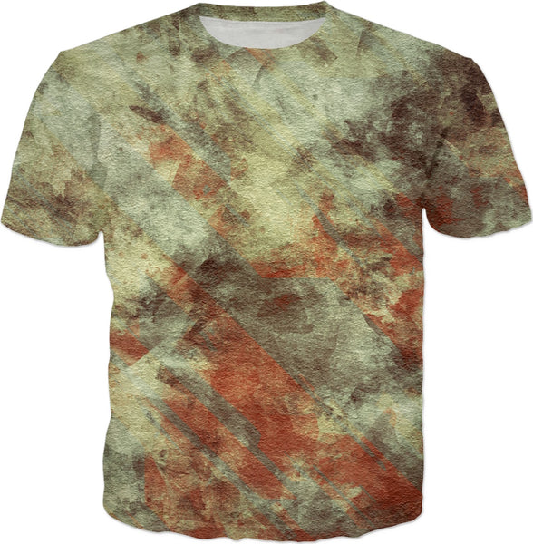 Cracked Texture 6 Custom T-Shirt