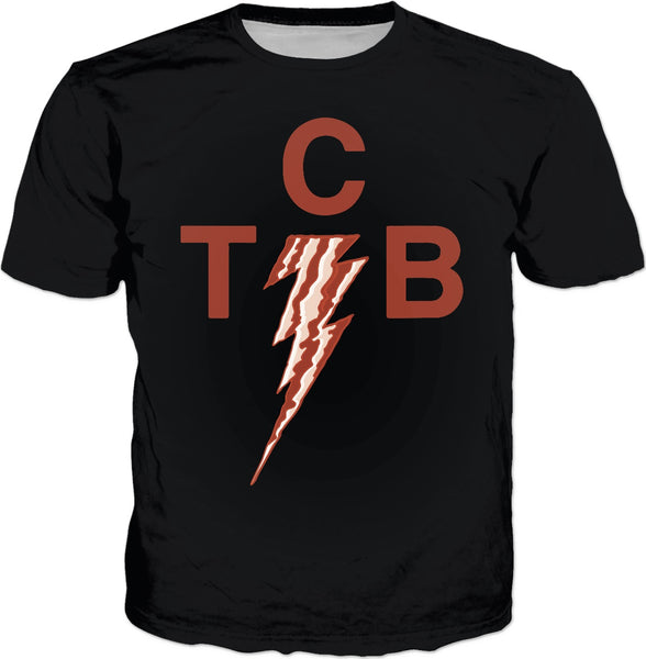 Taking Care of Bacon In a Flash Custom T-Shirt