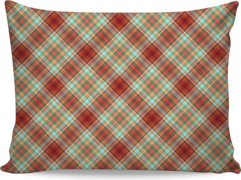 70s Plaid Custom Pillowcase