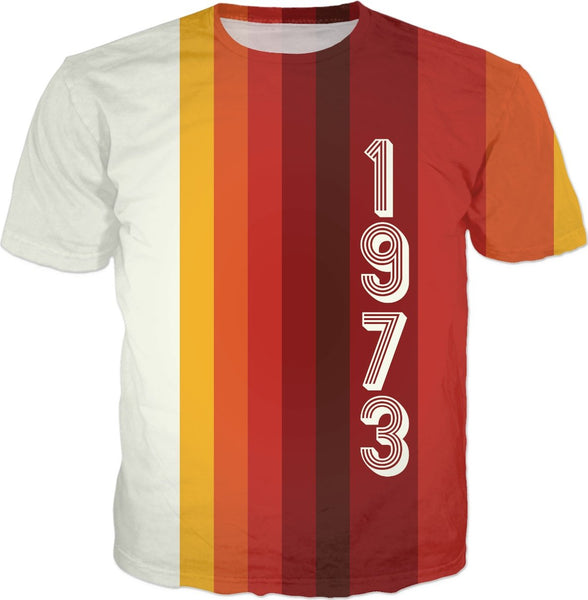 1973 Classic Stripes 2 Custom T-Shirt