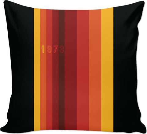 1973 Classic Stripes 2  Custom Couch Pillow