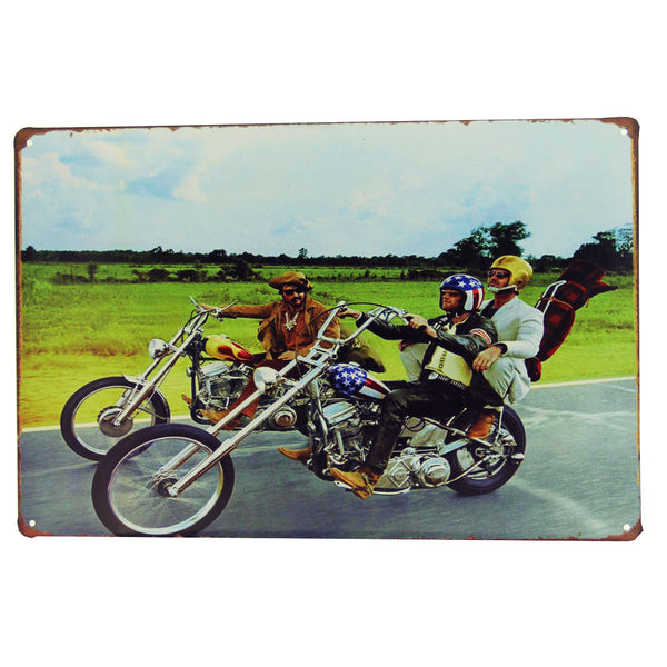 Easy Rider Metal Sign