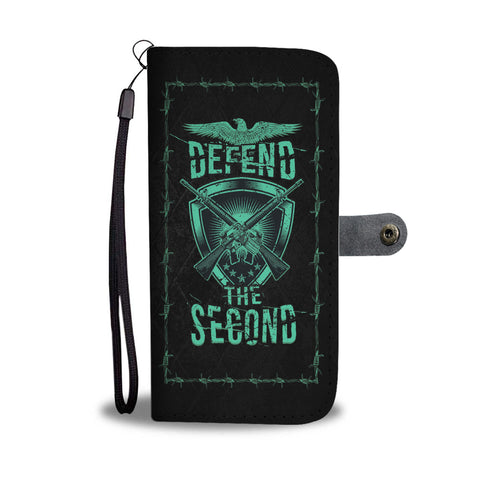 Defend The Second Wallet Phone Case