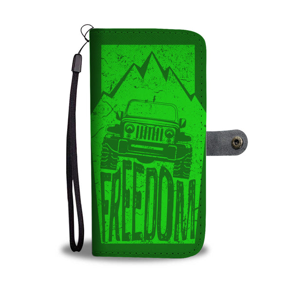 Freedom Wallet Case Green