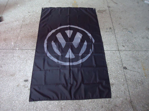 Distressed VW Flag
