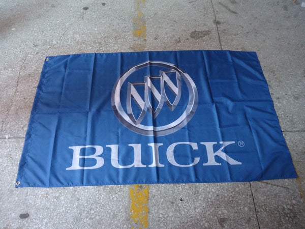 Buick Blue Flag