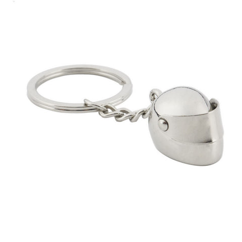 Racing Helmet Key Chain