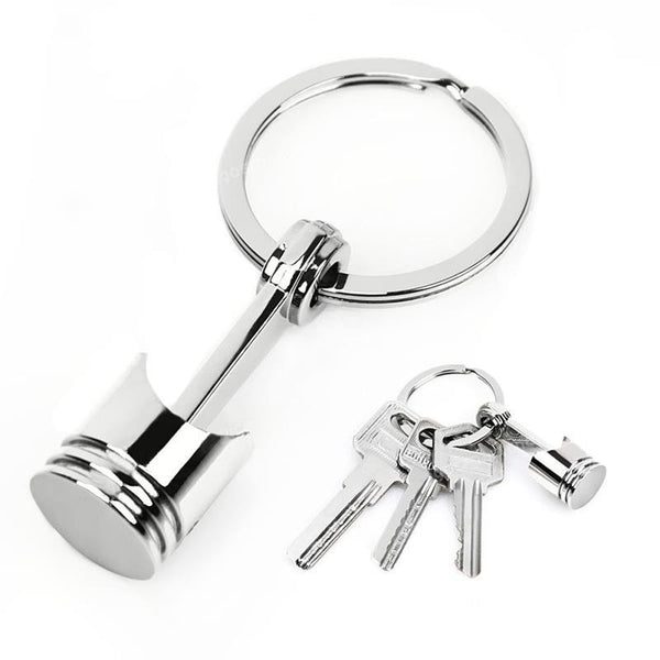 Piston Key Ring