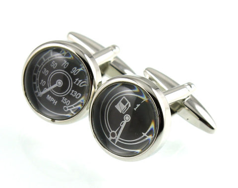 Fuel Speedo Cufflinks