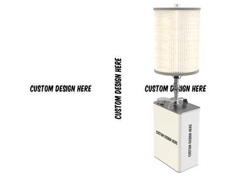 Custom Design Gas Can Lamp