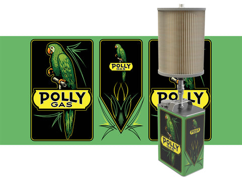 Polly Gasoline Gas can lamp
