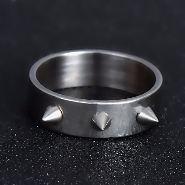 Spiked Biker Ring