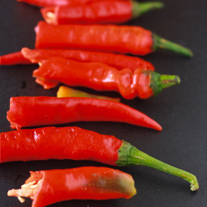 Health benefits of capsaicin in red chili flakes