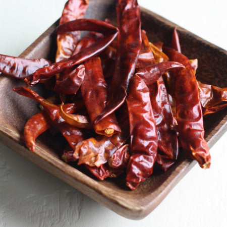 Thai whole dried red chili peppers - Season with Spice asian spice shop