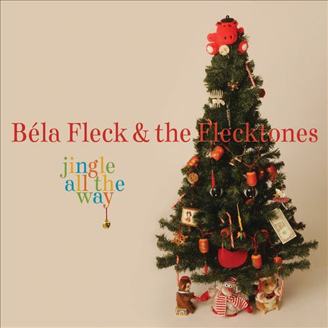 Jingle All The Way CD by Bela Fleck & Flecktones
