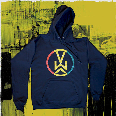 NEW! VW Logo Hooded Pullover Sweatshirt