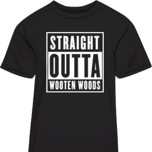 'Straight Outta Wooten Woods' T-Shirt