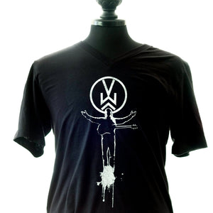 MusicAlly V-neck T-shirt