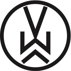 VW Logo Sticker
