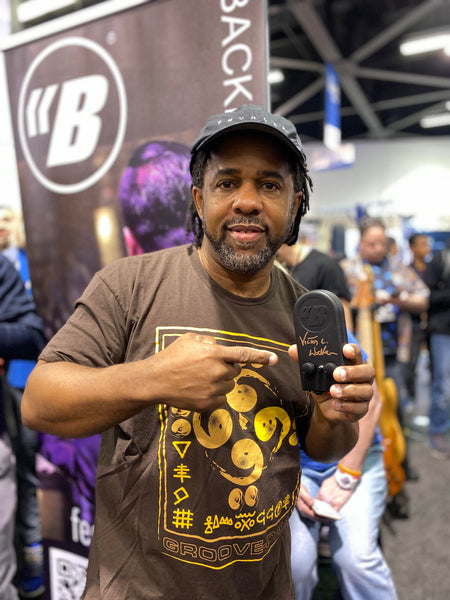 Victor Wooten using the Backbeat