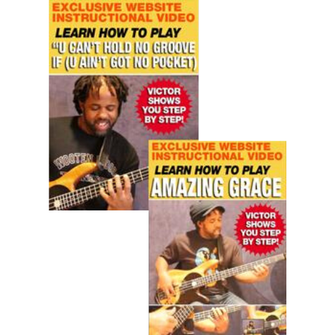 U Can't Hold No Groove... and Amazing Grace - Digital Lesson Bundle