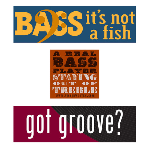 Bass Player Sticker Bundle
